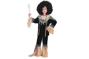 Kostuum Afrikaanse Agu