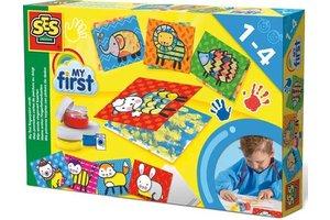 SES Mijn eerste vingerverf kaarten