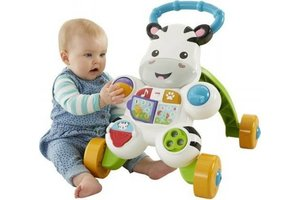 Fisher-Price Loopwagen zebra