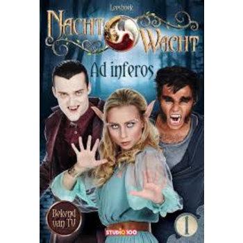 Studio 100 Nachtwacht leesboek - Ad inferos