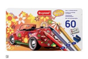 Bruynzeel Super sixties kever kleurpotloden
