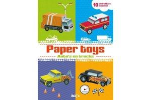 Paper Toys - Auto's en trucks