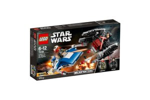 LEGO Star Wars™ 75196  A-wing™ vs. TIE Silencer™ microfighters