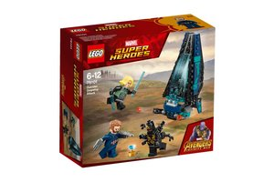 LEGO Marvel Super Heroes 76101 Outrider shuttle aanval