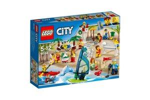 City 60153 Personenset – plezier aan het strand