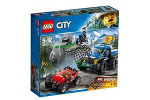 LEGO City 60172 Modderwegachtervolging