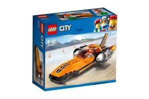 LEGO City 60178 Snelheidsrecordauto