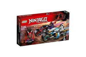 LEGO NINJAGO® 70639 Straatrace van de slangenjaguar