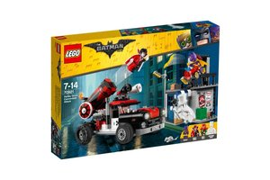 LEGO BATMAN MOVIE 70921 Harley Quinn™ kanonskogelaanval