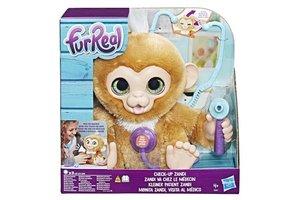 Hasbro FurReal Zandi Het Zieke Aapje - Interactieve Knuffel