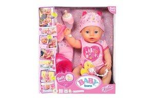 Mattel BABY born® Soft Touch Meisje - Interactieve babypop