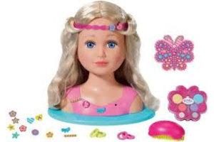 Mattel Kaphoofd Sister Baby Born
