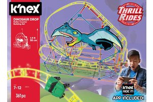K'nex K'NEX dinosaurus dalende achtbaan