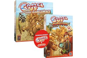 999 Games Camel up basisspel + Camel Up Supercup Uitbreiding