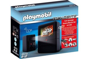 Playmobil 4879 Spionage cameraset