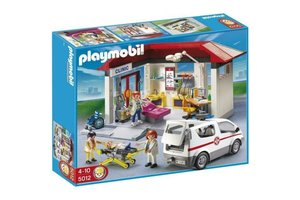 Playmobil 5012 Spoedarts met ambulance
