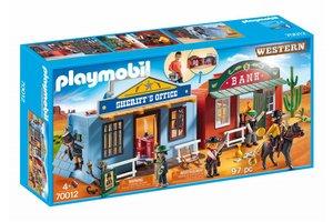 Playmobil 70012 Meeneem Western stad
