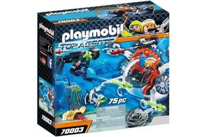 playmobil 70003 Spy Team Bemande onderwaterrobot