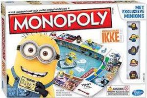 Hasbro Verschrikkelijke Ikke Monopoly