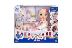Hasbro Baby Alive - Levensechte babypop