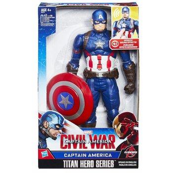 Hasbro Marvel Civil War Captain America Titan Hero Eectronic - 30cm