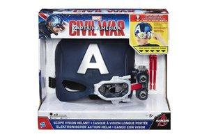 Hasbro Marvel Civil War Captain America Scope Vision Helmet