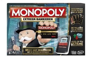 Hasbro Monopoly Extreem Bankieren