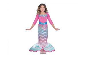 Barbie - Kostuum Regenboog Zeemeermin