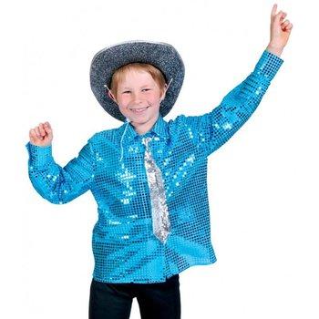 Disco Hemd Blauw