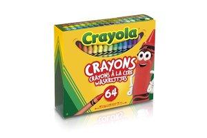 Crayola Waskrijtjes - 64stuks