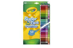 Crayola Viltstiften supertips - 50stuks