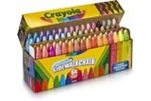 Crayola Stoepkrijt - 64stuks