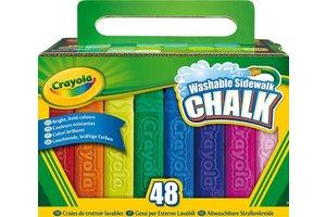 Crayola Stoepkrijt - 48stuks