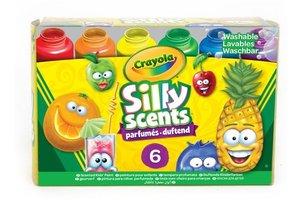 Crayola Silly Scents - Potjes geurverf (6stuks)
