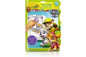 Crayola Mini Kids Paw Patrol - Kleur- en stickerboek