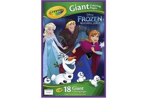 Crayola Disney Frozen - Reuze kleurplaten 18stuks