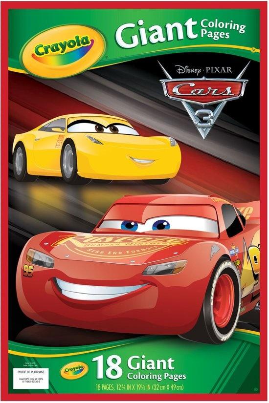 Kleurplaten Cars 3.Disney Cars 3 Reuze Kleurplaten T Klavertje Vier