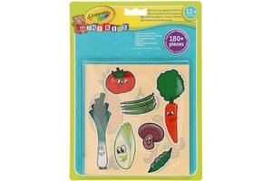 Crayola Mini Kids - Jumbo Stickers Groente & Fruit
