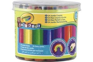 Crayola Mini Kids - Dikke Waskrijtjes 24stuks