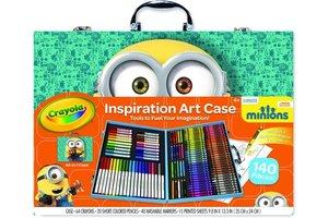 Crayola Minions - Kleurkoffer 140stuks