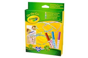 Crayola On the Go - Vriendschapsarmbandjes