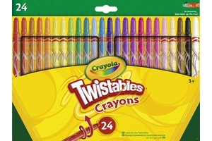 Crayola Draaiwaskrijtjes - 24stuks