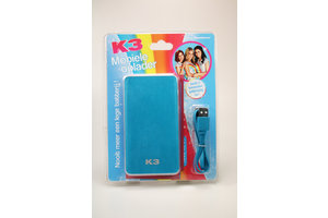 TE group Powerbank K3 blauw