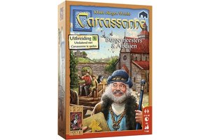 999 Games Carcassonne Burgemeesters en Abdijen