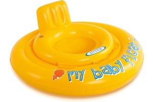 Intex Babyvlot Ø 70cm - geel
