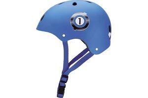 Maple Leaf Globber Skatehelm Junior Racing - Blue