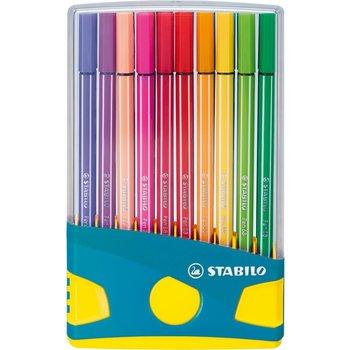 Stabilo Stabilo Pen 68 ColorParade - Box 20stuks (turquoise/geel)