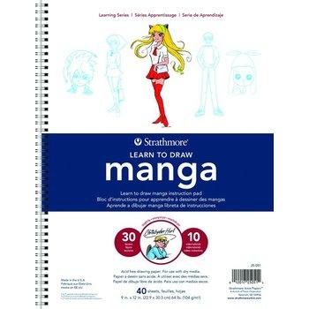 """Talens Strathmore Learning Serie """"Manga"""" (229x305mm) 104gr/40vel"""