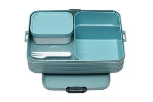 mepal bento lunchbox take a break large - nordic green