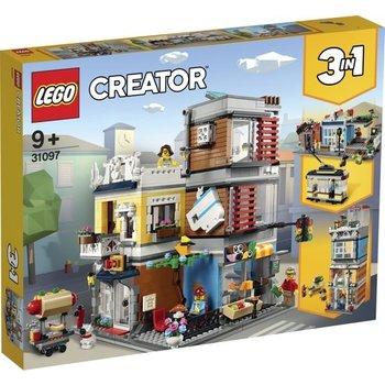 LEGO LEGO Creator Woonhuis, dierenwinkel & café - 31097